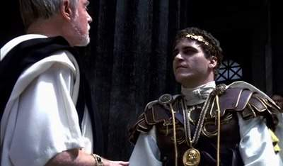 Gladiator - Conflict between Gracchus and Commodus
