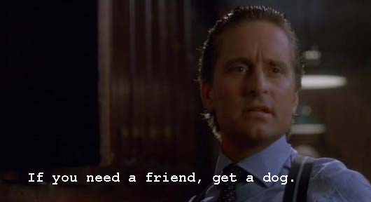 Whatascript! compilation of movie character quotes - Gordong Gekko - Wall Street