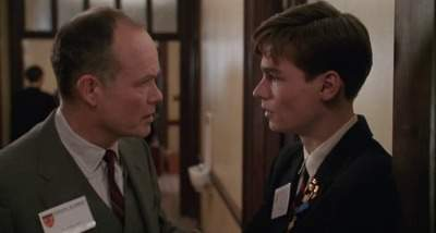 Dead Poets Society - Conflict Neil and his Father