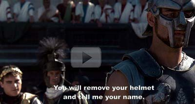 gladiator character name