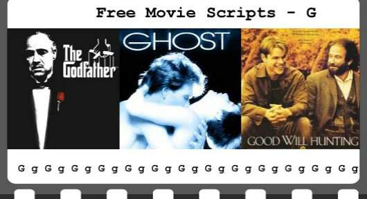 Free Movie Scripts - Priceless Stories
