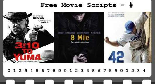 Free Movie Scripts