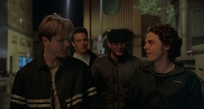 Will Hunting and his friends talking about why he got fired from his job