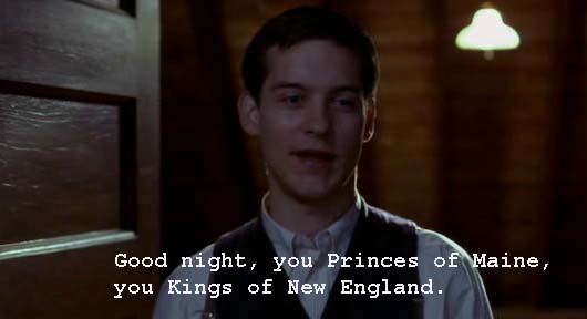 Whatascript! compilation of funny, cool and romantic movie quotes - The Cider House Rules