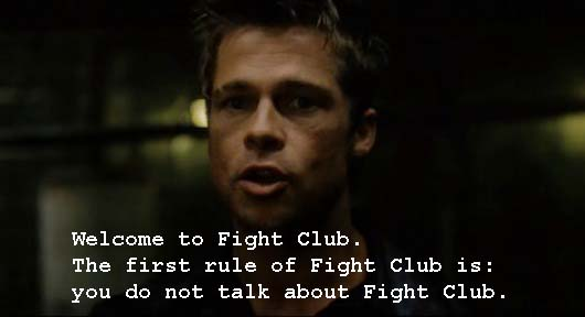 Whatascript! compilation of movie character quotes - Tyler Durden - Fight Club