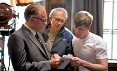 Dustin Lance Black on the set of J.Edgard with Clint Eastwood and Leonardo DiCaprio - A Passionate Storyteller