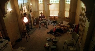 Good Will Hunting - Will's bedroom to illustrate the screenplay format commandment #3:        Thou shalt not slow down the reader
