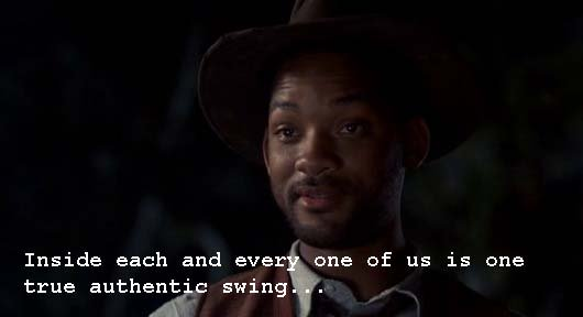 Whatascript! compilation of movie character quotes - Bagger Vance