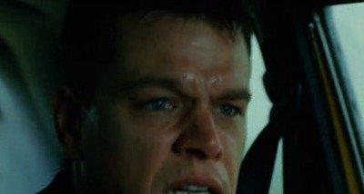 Bourne Supremacy - car chase