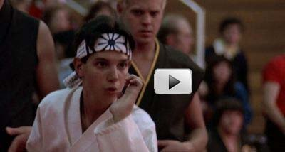 Screenplay Format Commandment #7: Thou Shalt Give Your Best Shot - The Karate Kid